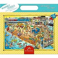 Coppenrath 13245 - Magnetpuzzle Wir fahren ans Meer! - 30 Teile Kinderpuzzle