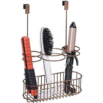 mdesign f nhalter ohne bohren praktischer haartrocknerhalter und gl tteisenhalter. Black Bedroom Furniture Sets. Home Design Ideas
