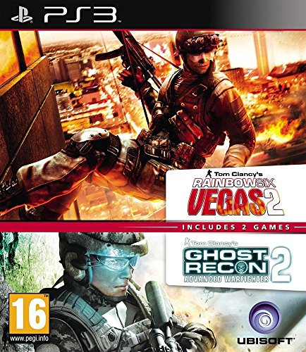 Rainbow Six Vegas 2 + Ghost Recon : Advanced Warfighter 2