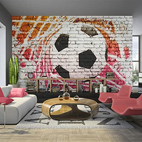 murando – Papier peint intissé – 350x245 cm - Papier peint – Tableaux muraux – Déco – XXL football 10110902-4