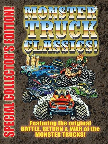 Image of Monster Truck Classics - Battle, Return & War of Monster Trucks
