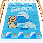 Smurf - Polar Fleece Blanket 102cm - Light Blue
