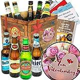 Biergeschenk - Zum Valentinstag für Männer + 9x Liebesbiere der Welt + Liebesgeschenke für Männer