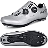 STEELEMENT.Herren Fahrradschuhe Spin Shoestring mit kompatiblen Stollen Peloton Schuh mit SPD und Delta für Männer Lock Pedal
