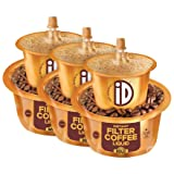 iD 100% Authentic Ready to Use, Instant Filter Coffee Decoction , 22 Cups 450 ml (150ml x 3)