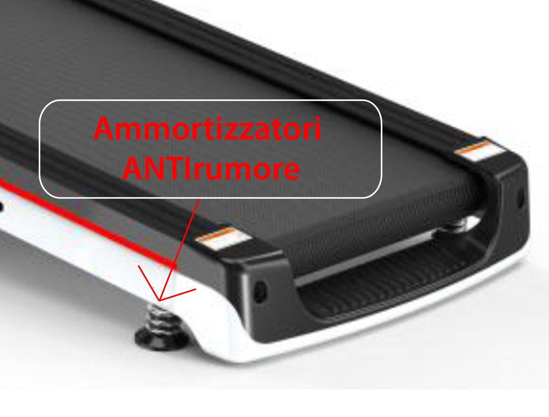 GO SPORT Tapis ROULANT Elettrico Professionale Pieghevole, Motore 2.0HP, AMMORTIZZATORI ANTIRUMORE. Dimensioni… 4 spesavip
