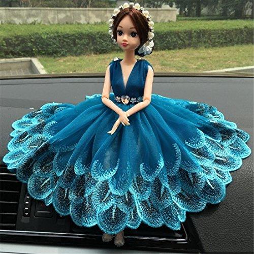 Schön Puppe Hochzeit Auto Dekoration , Hochgradige Kreativ Auto SUV Zubehör Auto Zuhause Büro Ornaments Mädchen Geschenk