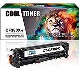 Cool Toner compatibile toner per CF380X 312X per HP Color LaserJet Pro MFPM476nw M476dn M476dw, 4400 pagine, Nero