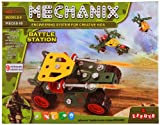 A Mechanix 3602011 Battle Station is a war game for kids that has nine models to be built for war. The Mechanix game includes a manual that helps your child to learn the fittings and also guides them through the whole process of building the mode...