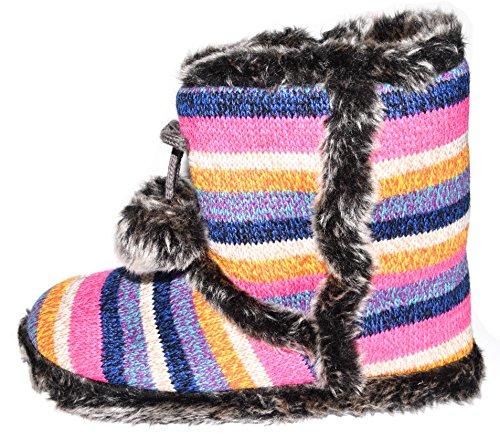 BTS, Pantofole donna Pink/ Blau