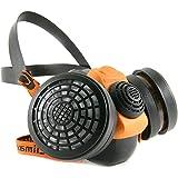 كمامة بفلتر مزدوج - أقنعة حماية الجهاز التنفسي