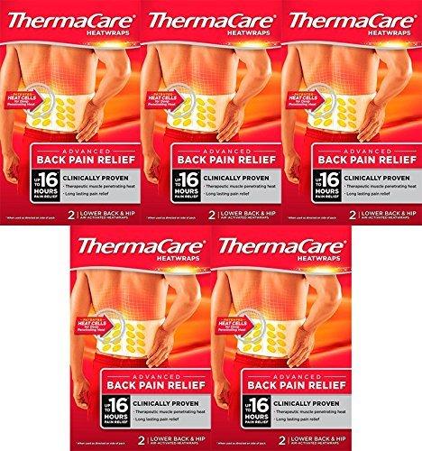 ThermaCare Wärmeumschlag, für unteren Rücken, 5er-Pack