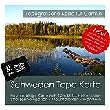 Schweden Garmin Karte TOPO 4GB microSD. Topografische GPS Freizeitkarte für Fahrrad Wandern Touren Trekking Geocaching & Outdoor. Navigationsgeräte, PC & MAC