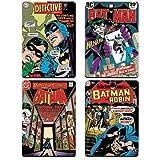 DC Comics Motif couvertures sous-verres quatre Pac