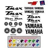 STICKER ADESIVO YAMAHA TMAX VINILE FUSTELLATURA ALTA Qualità 19 Unità ( disponibile in 16 colori ) MOD.1