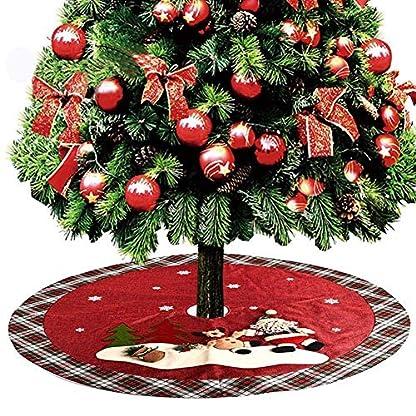 MX-kingdom-Weihnachtsbaum-Rock-Baum-Verzierungen-Xmas-Tree-Rock-fr-Weihnachtsdekoration-Jahr-Party-120cm