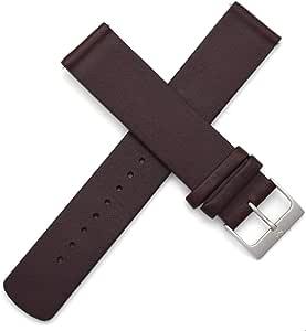 Cinturino di ricambio per orologio Skagen da 20 mm, in vera pelle