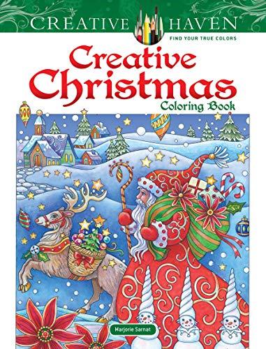 Creative Haven Creative Christmas Coloring Book (Colouring Books) por Marjorie Sarnat
