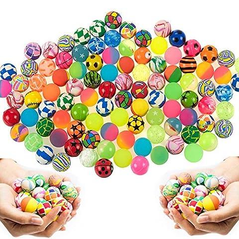 Balles Rebondissantes - German Trendseller® - 12 x balles rebondissantes┃mélange