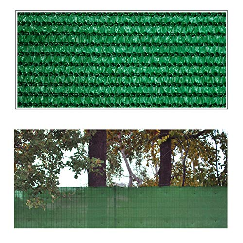 Helo 'G10' Sichtschutznetz Zaunblende 10 m Länge x 1 m Höhe (grün) aus HDPE Gewebe, hoch reißest, witterungs- und UV-beständig, ideal als Sichtschutz, Windschutz, Staubschutz oder Sonnenschutz Netz
