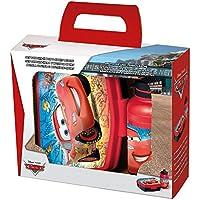 POS Handels GmbH Set Brotdose & Trinkflasche Race | Disney Cars | Wasser-Flasche | Brotbüchse preisvergleich bei kinderzimmerdekopreise.eu