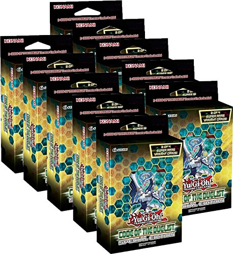 Yu-Gi-Oh - Code of the Duelist - Special Edition - 1 Display (10 Boxen) - Deutsch -