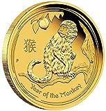 1/10onza Oro de moneda oro simio Perth Mint oro moneda lunar Serie