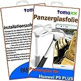 Huawei P9 Plus Panzerglasfolie Panzerglas Glasfolie Glas