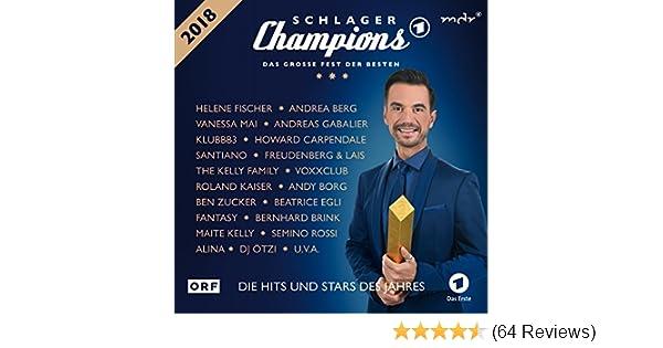 Schlager Champions 2018 Das Große Fest Der Besten Von Various