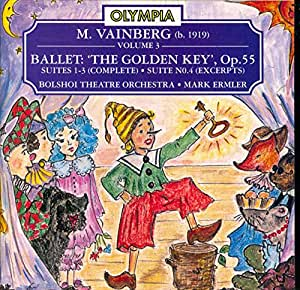 The Golden Key, Ballet Op. 55 [Import anglais]