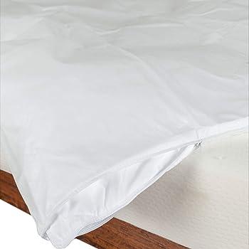 homescapes wasserfester bettbezug 200 x 135cm 100 polypropylen hypoallergen schutz. Black Bedroom Furniture Sets. Home Design Ideas
