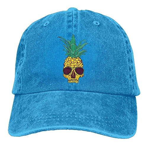 Ananas-Brille einstellbar Outdoor Sports Headwear Baumwollhut (eine Größe) (Ananas Hurricane)