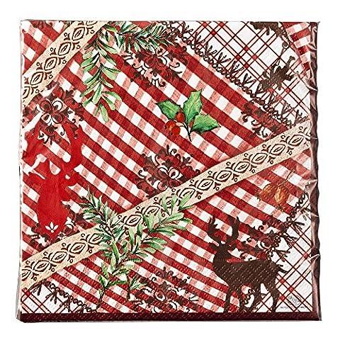 """Hutschenreuther 02433-725650-05214 """"Märchenwald"""" 20 Papierservietten, 33 x 33 cm"""