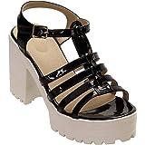 Stepee Sandal for Womens High Heel Wedges Sandal for Girls and Women