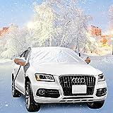 Parabrezza Parasol Auto, Onlyhere Protezione parabrezza antighiaccio Auto Copertura Parasole Invernale Anti-Gelo Parabrezza neve, adatto per la maggior parte dei veicoli (1450*1650*500mm) ( Fit SUV)