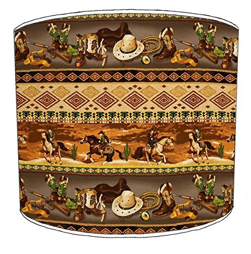 8-inch-table-cowboy-western-print-lampshade-12
