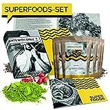 BIO Superfood Probierset 5x50g Superfoods Geschenkbox | Superfood für Einsteiger Geschenkidee 100% BIO Geschenkset für Frauen Männer | Geburtstag Weihnachten