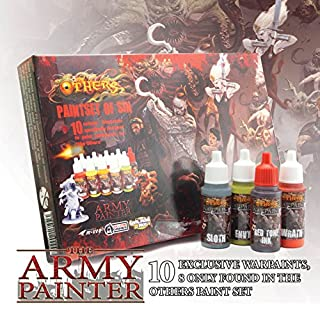 The Others 7 Sins Warpaints Set Army Painter