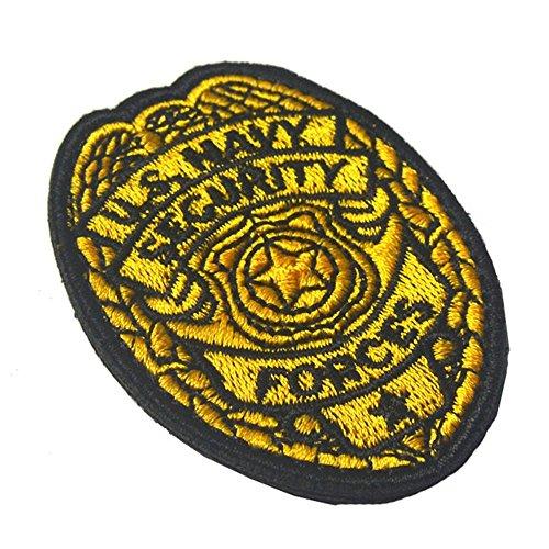 US Navy Security Loop Abzeichen, Minkoll Moral USA USA Armee Militärische Taktische Patch Haken für Rucksack Hut Jeans Jacken Cap