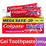 Best Sensitive Toothpastes - Colgate MaxFresh Anticavity Toothpaste Gel, Spicy Fresh Review