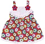 CODE 999 Baby Girls' Cotton Straight Fro...