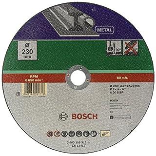 Bosch DIY Trennscheibe Metall (für Winkelschleifer, Ø 230 mm, gerade, A 30 S BF)