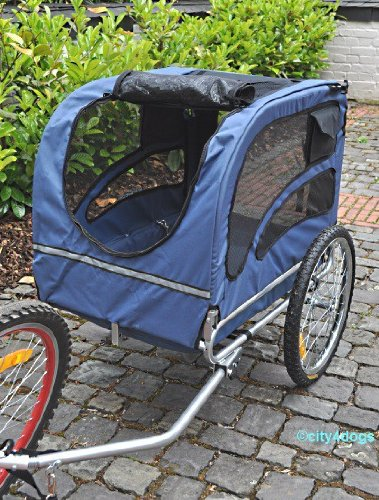 Hunde-Fahrradanhänger Starlight Maxi - bis 40kg Zuladung -