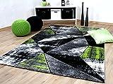 Designer Teppich Brilliant Grau Grün Magic in 5 Größen