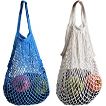 39eb5d592 2 bolsas de red de Stonges organizadora para las compras, de algodón,  respetuosas con