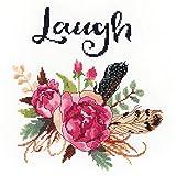 Janlynn Acuarela Flores Laugh de Punto