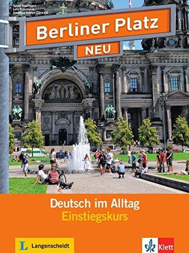 Berliner Platz Neu: Einstiegskurs by Susan Kaufmann (2013-08-26)