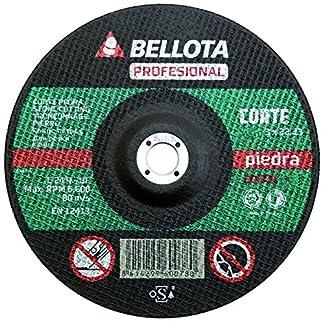 Bellota 50302-230 Disco ABRASIVO Profesional Corte Piedra 230MM