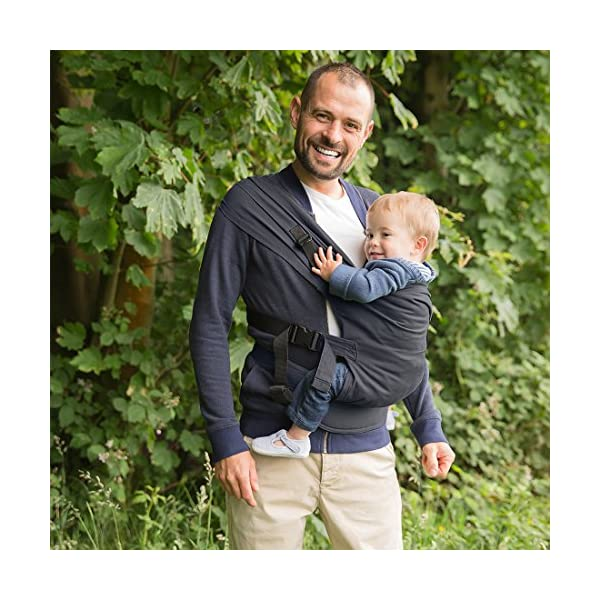 Izmi Toddler Carrier, Three Carry Positions, for Children Weighing 8kg-27kg, Midnight Blue Izmi Ideal for carrying your baby from 9months onwards (8kg-27kg/17.6lbs-60lbs) Adjustable seat width provides the best support from 9months onwards, whilst holding your little one in a hip healthy position 3 carrying positions: front carry, back carry and hip carry 2
