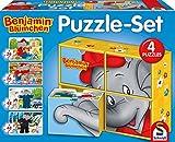 Schmidt Spiele 56502 - Puzzle - Set Benjamin Blümchen 2 x 26, 2 x 48 Teile